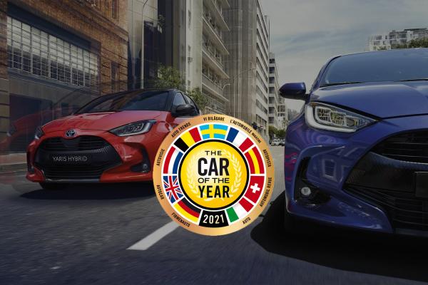 TOYOTA YARIS verkozen tot AUTO van het JAAR 2021 !!!