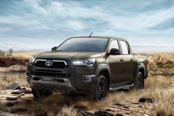 De nieuwe Toyota Hilux is aangekomen.
